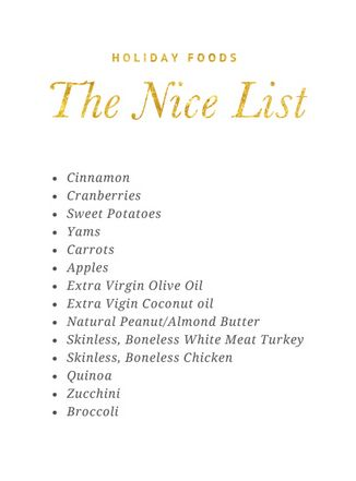 Dog Safe Holiday Foods: The Nice List - What Foods are Safe for your Dog at Christmas | Pretty Fluffy #dog #health