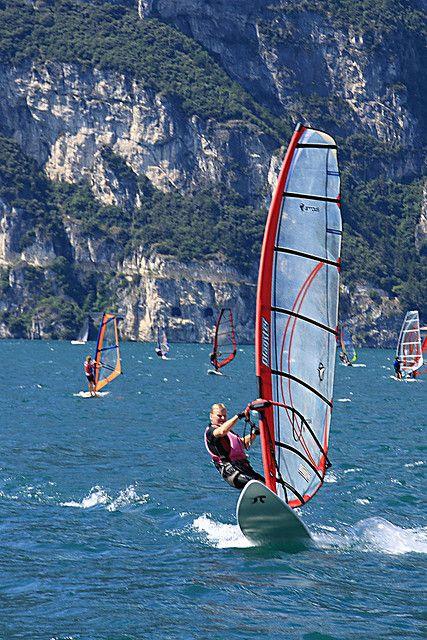 Lake Garda, Gargnano, Lombardy, Italy