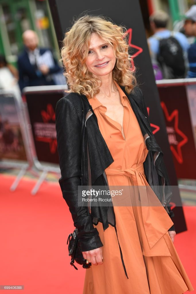 American actress, director and producer Kyra Sedgwick attends the UK premiere of 'God's Own Country' and opening gala of the 71th Edinburgh International Film Festival at Edinburgh Festival Theatre on June 21, 2017 in Edinburgh, Scotland.