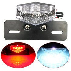 #Banggood Motorcycle Scooter License Plate Rear Brake Running Tail Light (951387) #SuperDeals
