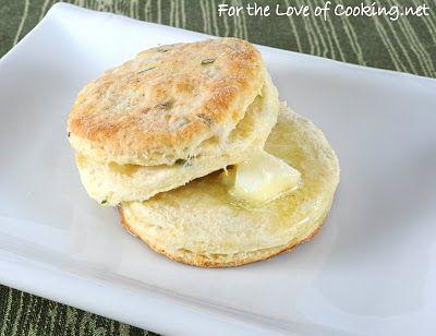 2 1/4 cups of flour  2 1/2 tsp baking powder  1/2 tsp salt  5 tbsp butter  3/4 cup of low fat buttermilk  2 tbsp honey  2 tbsp fresh chives, chopped