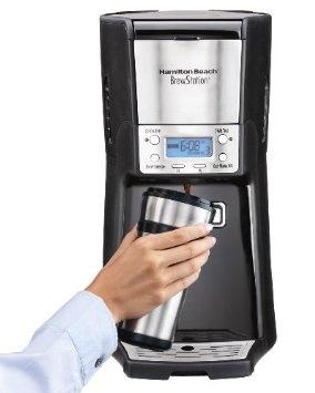 Amazon.com: Hamilton Beach 48464 Brewstation Summit 12-Cup Programmable Coffeemaker: Kitchen & Dining