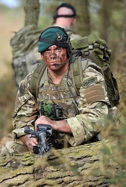 British Royal Marines camandos