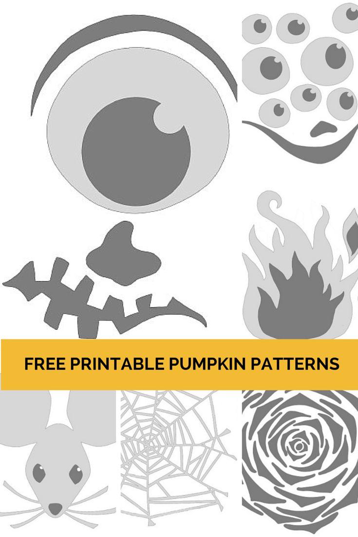 Best 25+ Printable pumpkin carving patterns ideas on Pinterest ...