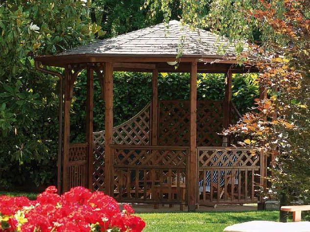 oltre 25 fantastiche idee su gazebo da giardino su pinterest ... - Legno Kit Gazebo Rettangolare