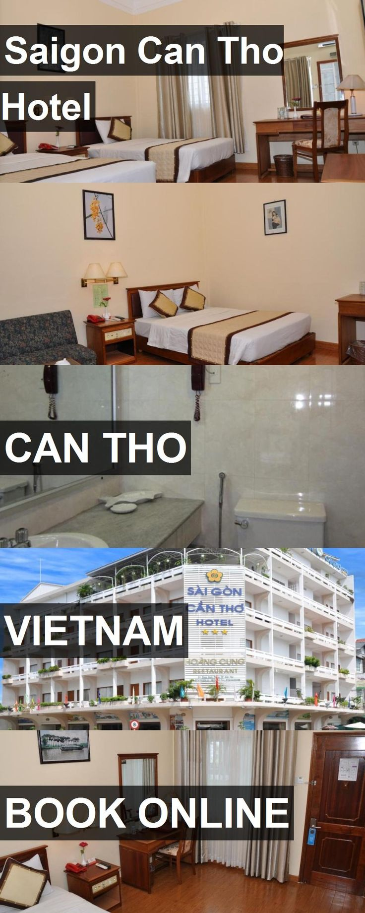 Hotel Saigon Can Tho Hotel in Can Tho, Vietnam. For more information, photos, reviews and best prices please follow the link. #Vietnam #CanTho #SaigonCanThoHotel #hotel #travel #vacation
