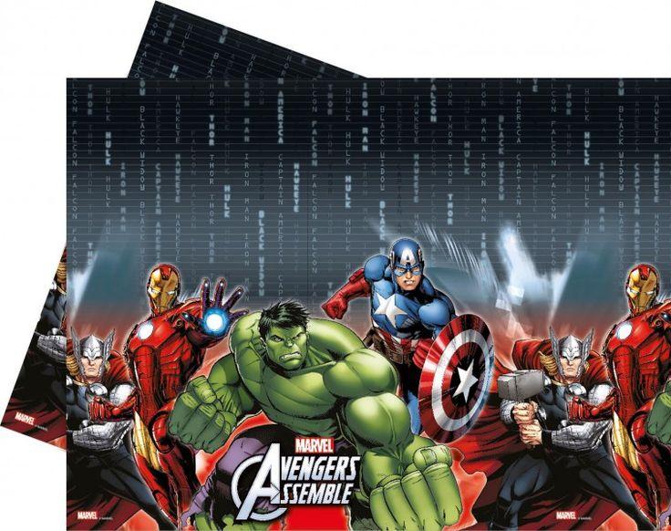 Plastik Tischdecke Avengers Multi Heroes
