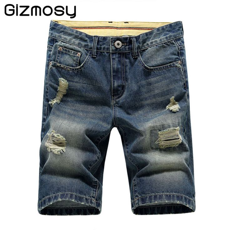 >> Click to Buy << 1 PC 2017 New Mens Summer Shorts Stretch Lightweight Blue Denim Jeans Short for Men Jean Shorts Pants Plus Size 27-38 BN632 #Affiliate