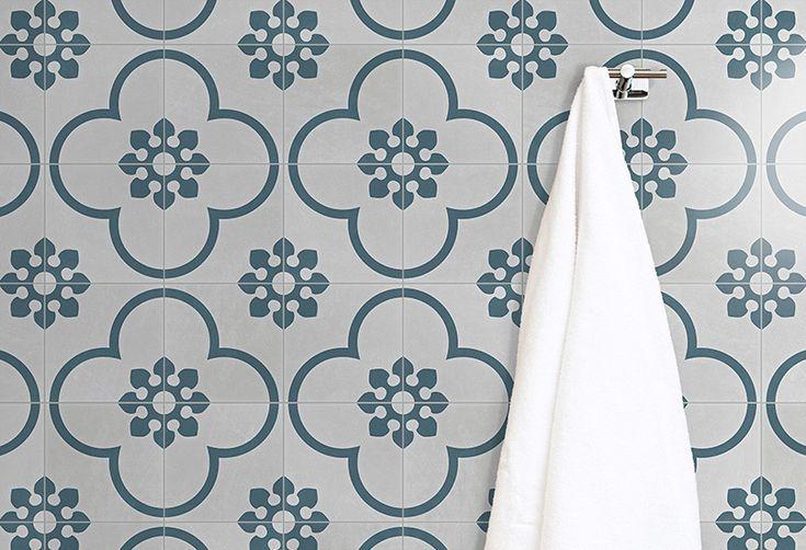 Bamble French Blue Light - ABL Tile & Bathroom Centre