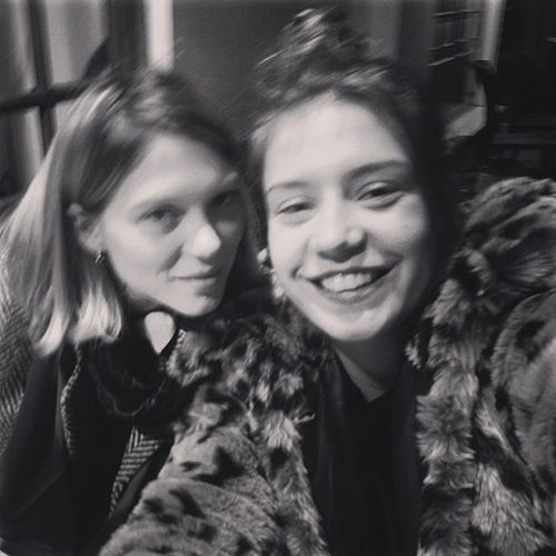 """ @adeleexarchopoulos: My girl """