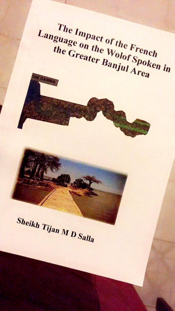 Amazing read for students and tourists on the Wolof language spoken in The Gambia....