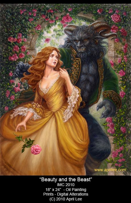 """""""Beauty and the Beast"""" by April Lee"""