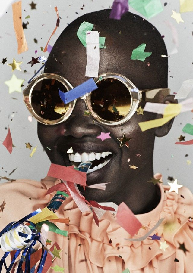 In celebration of her 10 years in the eyewear industry, Karen Walker has launched a collection of 10 new, limited edition sunnies - recreating one style from each year in gold frames and gold mirrored lenses.Good as gold. Enough said.