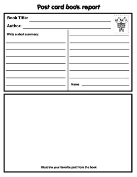 independent book report Independent reading project the book report form and summary instructions are included in the independent projects you may choose from are included in this.
