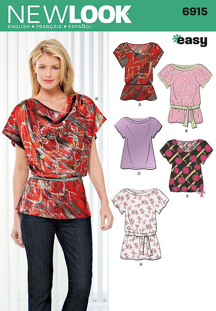 Perfect Blouse - Sewing Pattern #4379. Made-to-measure Sewing Pattern From Lekala With Free Online Download.