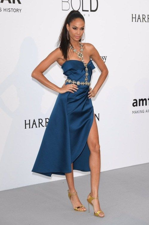 aries0331: Joan Small in Elie Saab attends the amfAR Gala 2017