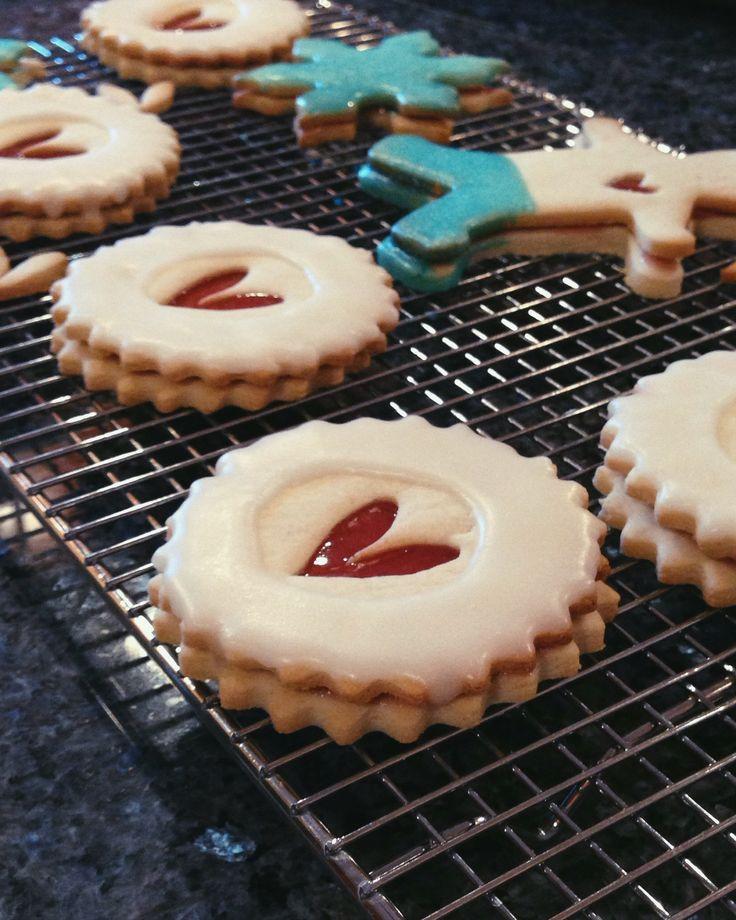 GET BAKED // raspberry imperial cookies