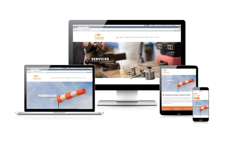 Panama Enterprises' new website looks great and is easy to use for their on-the-go client base #webdesign #responsiveweb #onlinemarketing