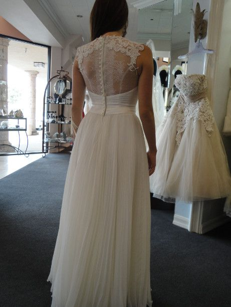 From berta bridal collection runway at monica forghani for Mon amie wedding dresses
