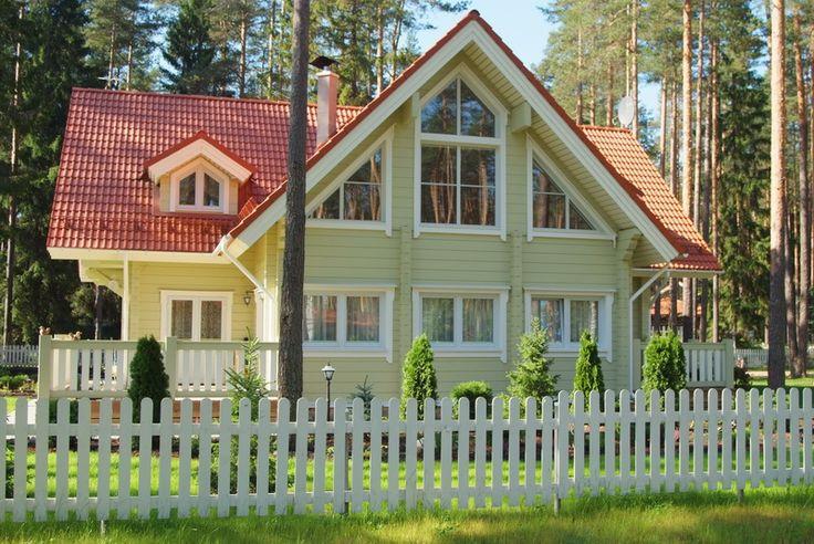 Swedish house (maison suédoise) – modèle: Maison en bois de Rovaniemi Log House