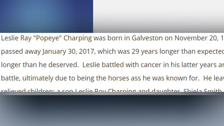 It might be the most brutal obituary ever. To say a Texas man who passed away in January is not being remembered fondly by his family would be an understatement.