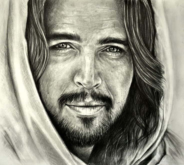 """... """"Son of God"""" is a 2014 American epic biblical drama film.The film retells the life of Jesus; Diogo Morgado portrayed Jesus in the film. Graphite pencil drawing by Heidi Kriel"""
