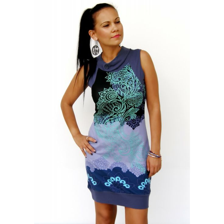 Blue Acantha Smash Dress