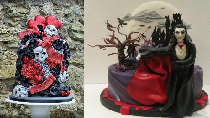 Cake By Design Aberdeen : 31 best images about Halloween Wedding Cakes: Gothic ...