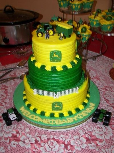 Baby Shower Cake Decorations John Lewis ~ Best john deere tractor party images on pinterest