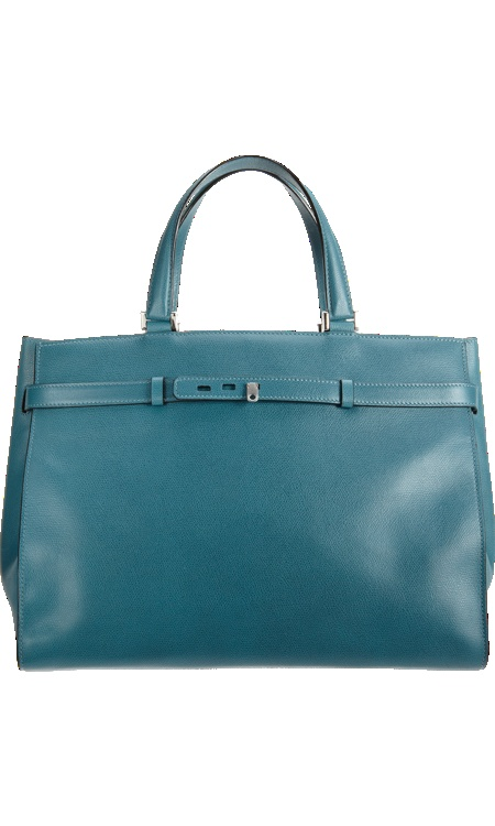 Valextra B-Shopping Bag. I love the shape and color! wish list forever.