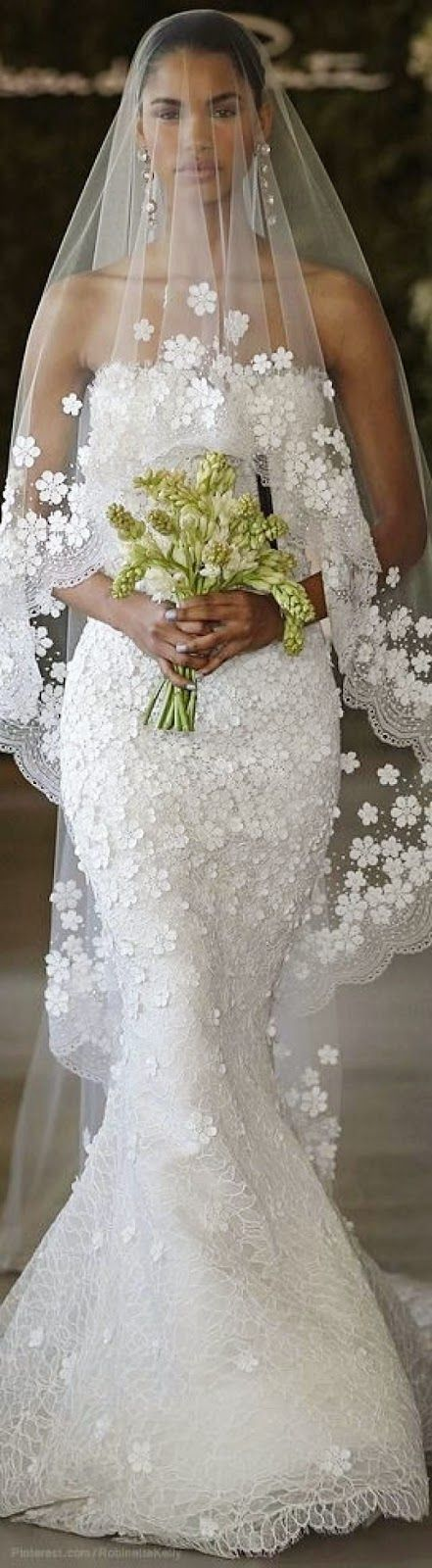 The 233 best Bridal Veils & Headpieces images on Pinterest   Bridal ...