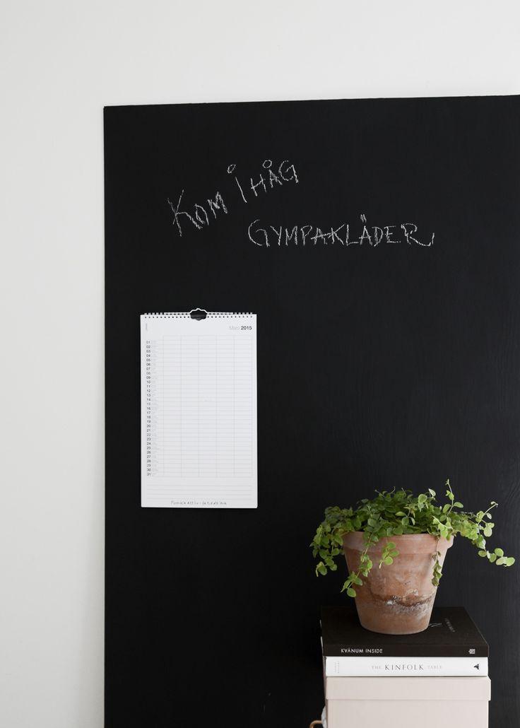 DIY- Gör en egen Griffeltavla och skapa ordning i kaoset.