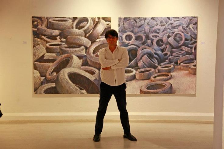 """Mostra """"100% Recycling"""" 4 maggio 2012 Galleria Merlino Bottega d'arte e Mercurio Arte Contemporanea Viareggio"""