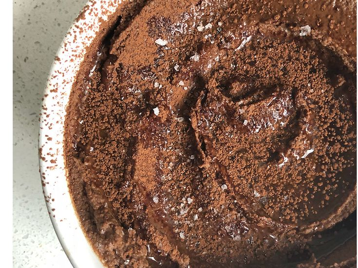 Chocolate Hummus Is Better Than Cookie Dough—Here's How to Make it at Home | Our chocolate hummus recipe will satisfy any chocolate craving, and it's rich in protein (a total bonus).