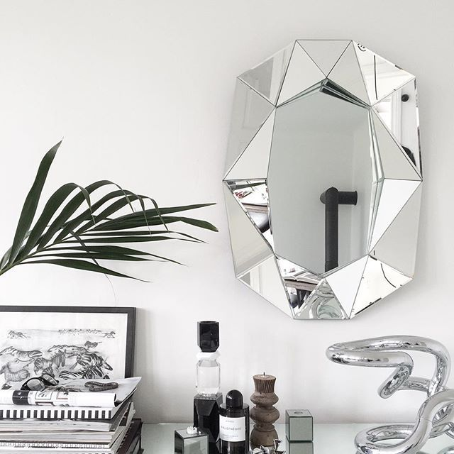 Beautilful picture of our Diamond Mirror by Jenny Hultgren in Sweden.