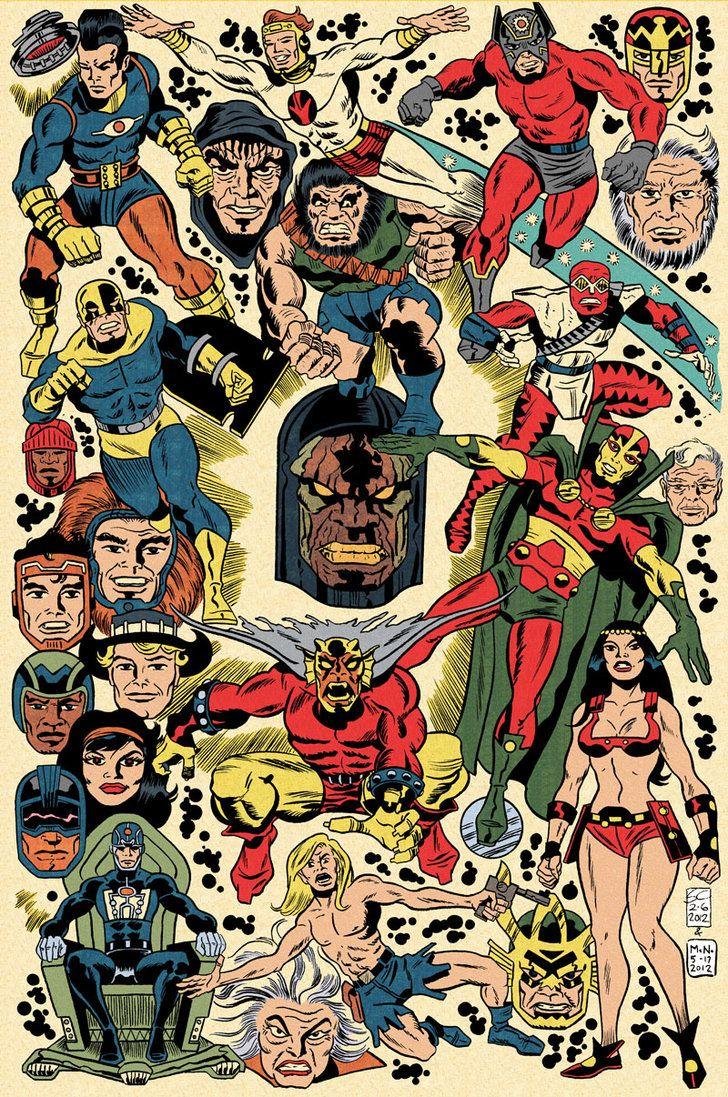 Jack Kirby artwork - Google Search                                                                                                                                                                                 More