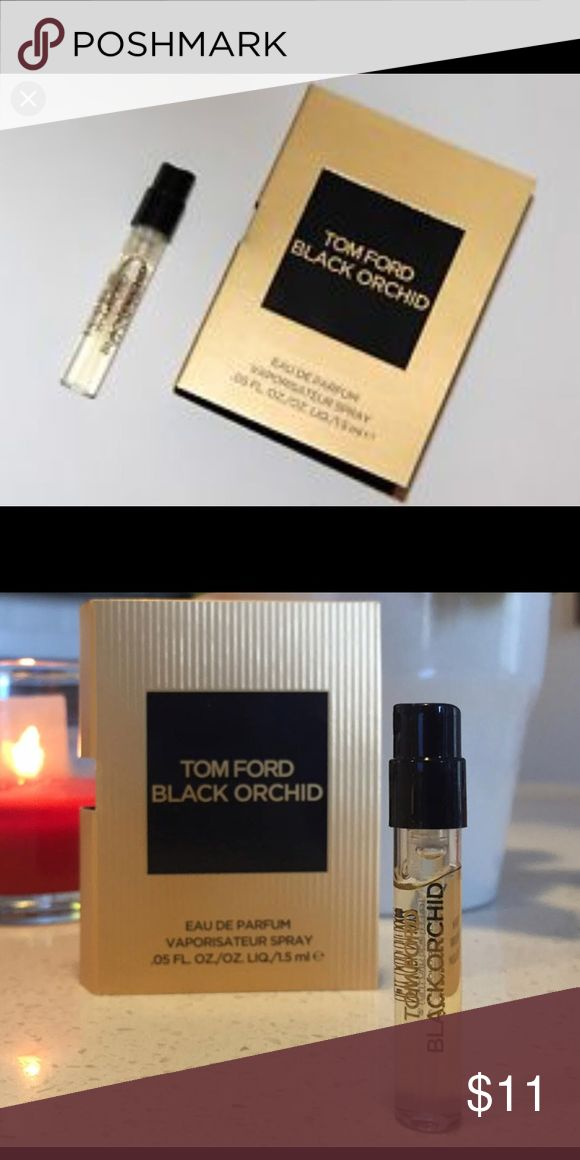 Tom Ford Black Orchid Mini Perfume Brand new mini! A luxurious and sensual fragrance of rich, dark accords and an alluring potion of black orchids and spice, TOM FORD Black Orchid is both modern and timeless. Tom Ford Other