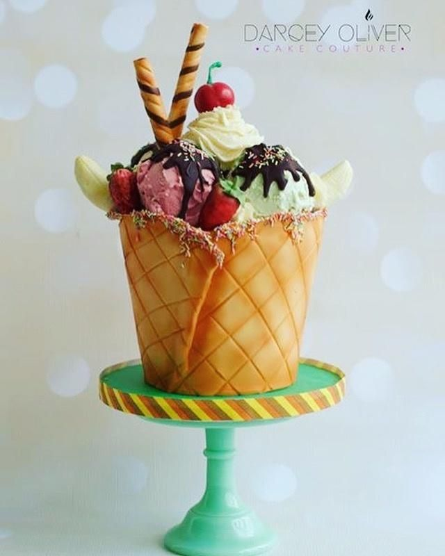 Gelato by Darcey Oliver Cake Couture