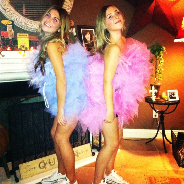 my best friend and i were loofahs for halloween fashion costumes halloween - Best Friends Halloween Ideas