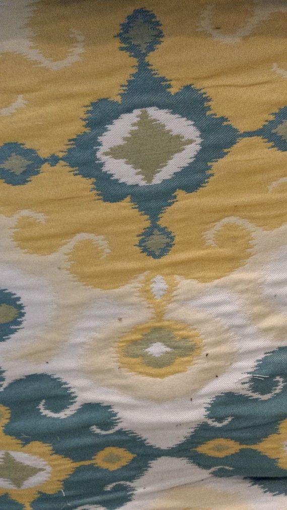 手机壳定制white mountain shoes law boots reviews Cotton IKAT Woven Tapestry Upholstery Fabric by fabriczoo U