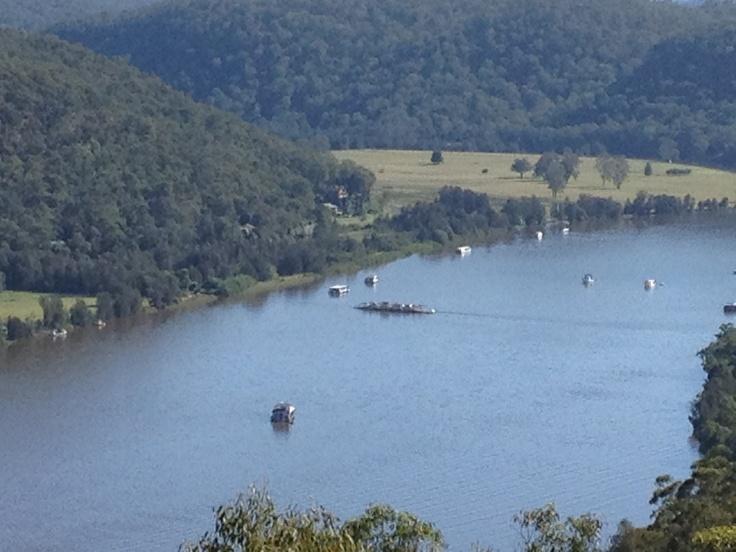 Hawkesbury River @ Wisemans Ferry by Alexandra Allan, Sydney NSW
