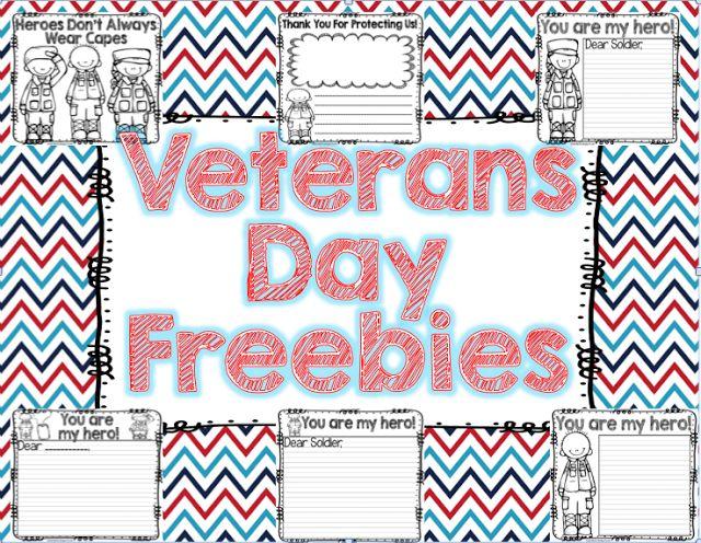 Veterans Day FREEBIE for little learners!