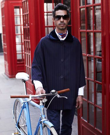 Otto London - Ponchos for the discerning cyclists. They keep you dry in style.