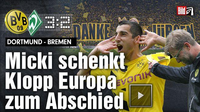 Dortmund - Bremen http://www.bild.de/bundesliga/1-liga/saison-2014-2015/spielbericht-borussia-dortmund-gegen-sv-werder-bremen-am-34-Spieltag-36651268.bild.html