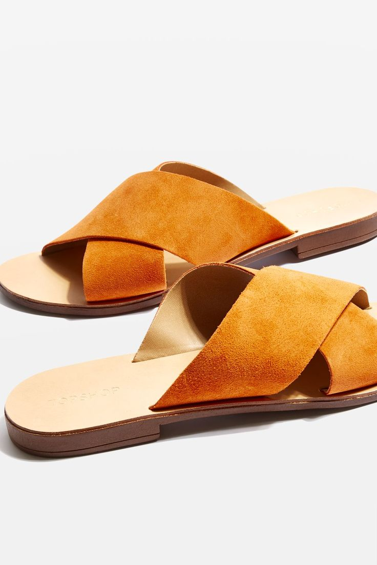 HAWAII Cross Strap Sliders
