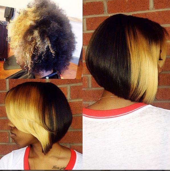 NATURAL HAIR BOB