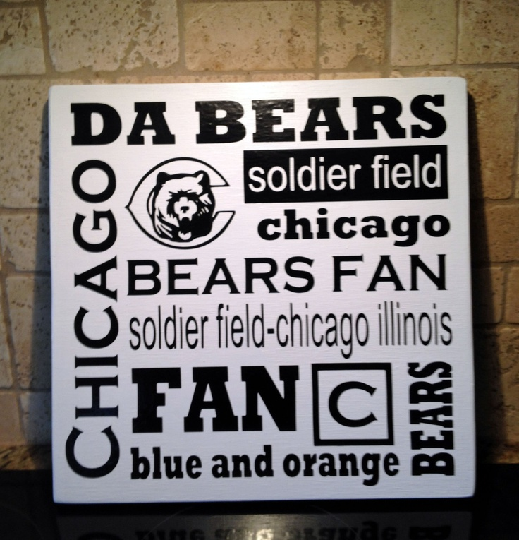Chicago Bears Wall Art 10 best chicago bears pictures images on pinterest | chicago bears