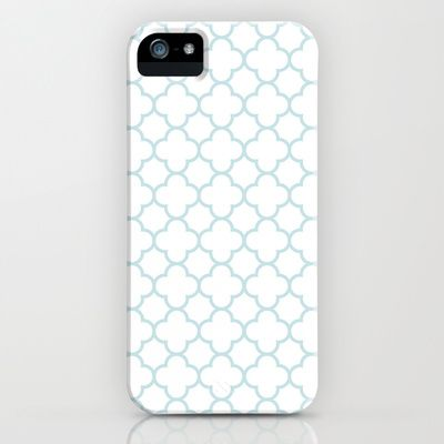 MOROCCAN {LIGHT BLUE} iPhone & iPod Case