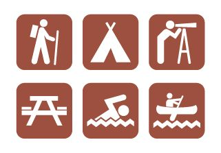 Vector Campground Icons by ~ZombiePoppa on deviantART