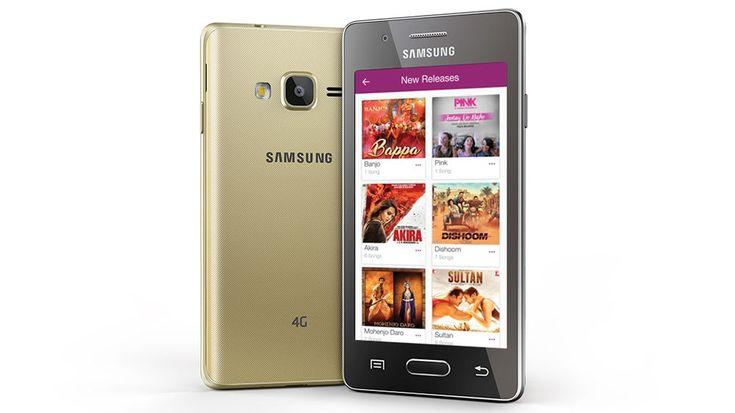 Компания Samsung представила бюджетный смартфонZ2